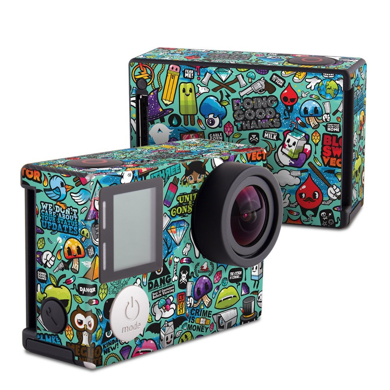 Jewel Thief GoPro Hero4 Black Edition Skin