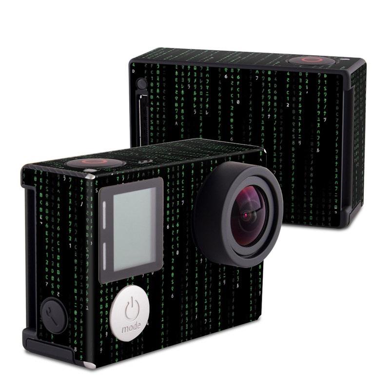 Matrix Style Code GoPro Hero4 Black Edition Skin