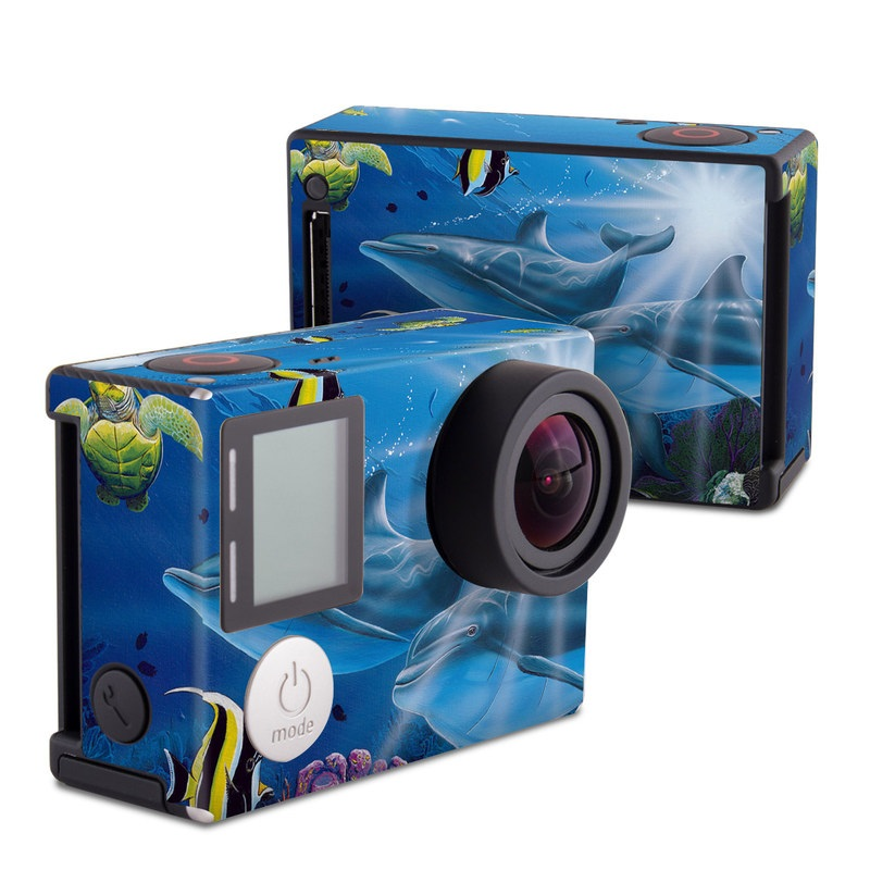 Ocean Friends GoPro Hero4 Black Edition Skin