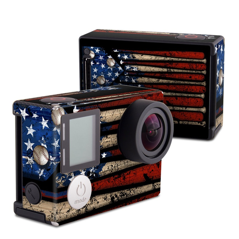 Old Glory GoPro Hero4 Black Edition Skin