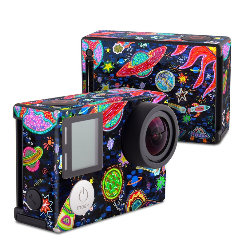 Out to Space GoPro Hero4 Black Edition Skin
