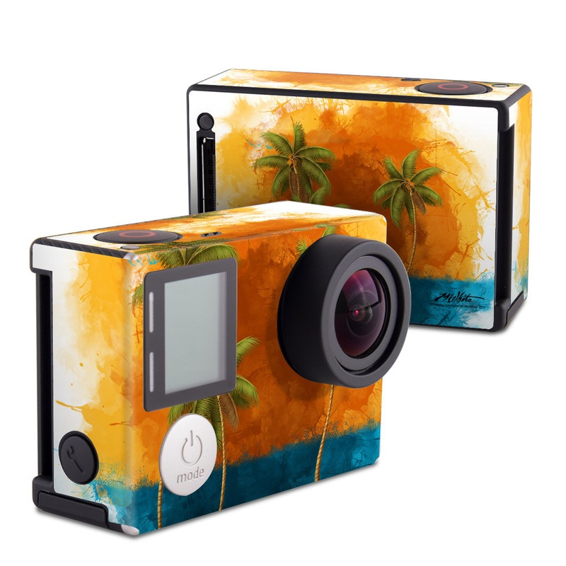 Palm Trio GoPro Hero4 Black Edition Skin
