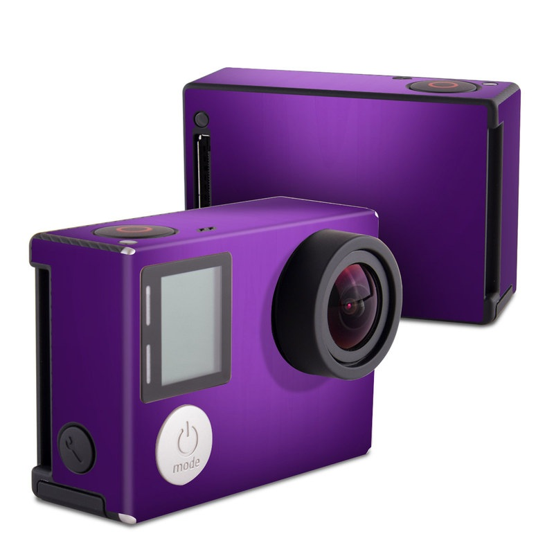 Purple Burst GoPro Hero4 Black Edition Skin