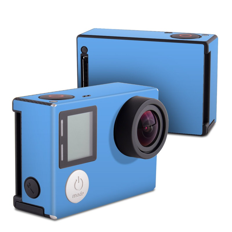 Solid State Blue GoPro Hero4 Black Edition Skin