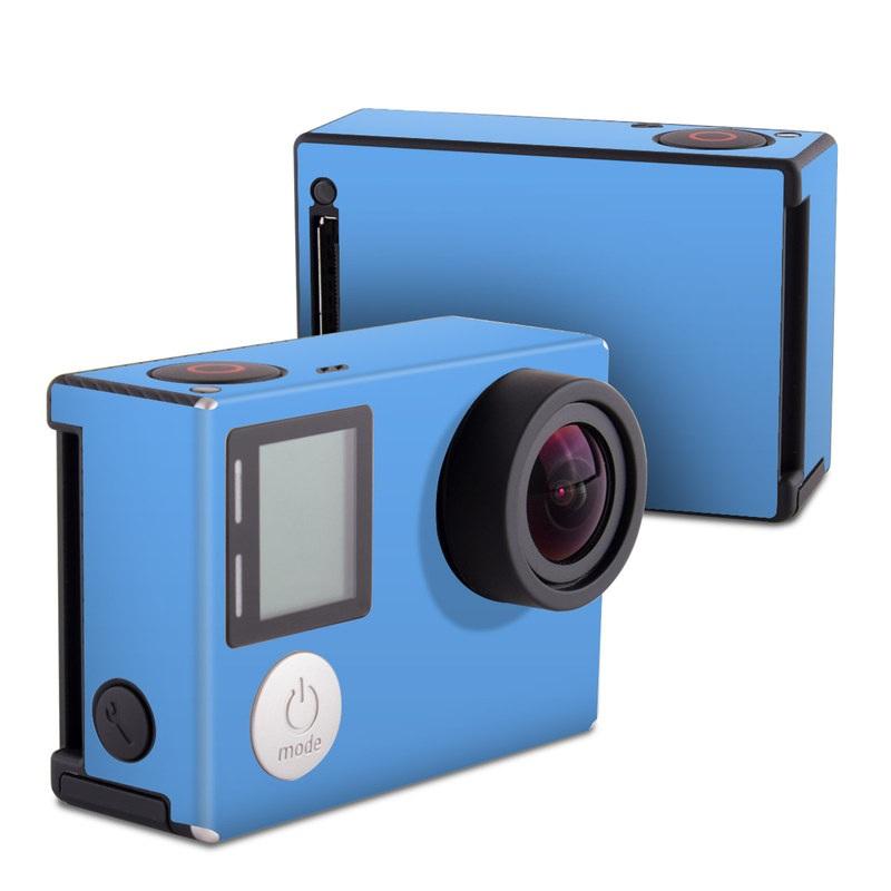 Solid State Blue GoPro Hero4 Black Edition Skin
