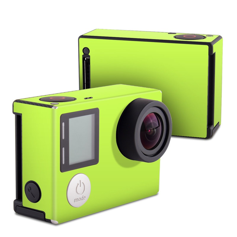Solid State Lime GoPro Hero4 Black Edition Skin