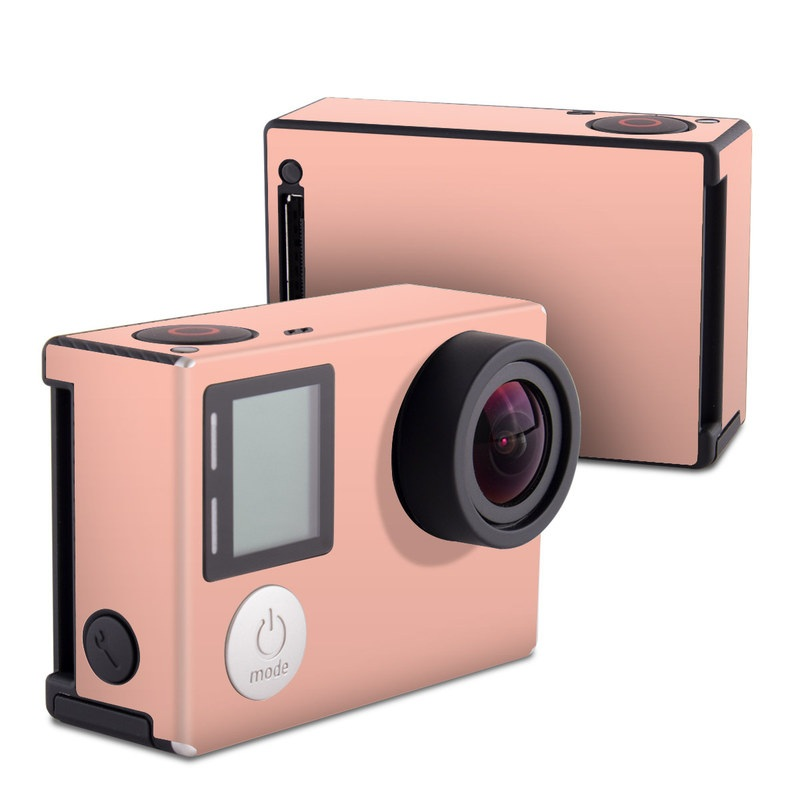 Solid State Peach GoPro Hero4 Black Edition Skin