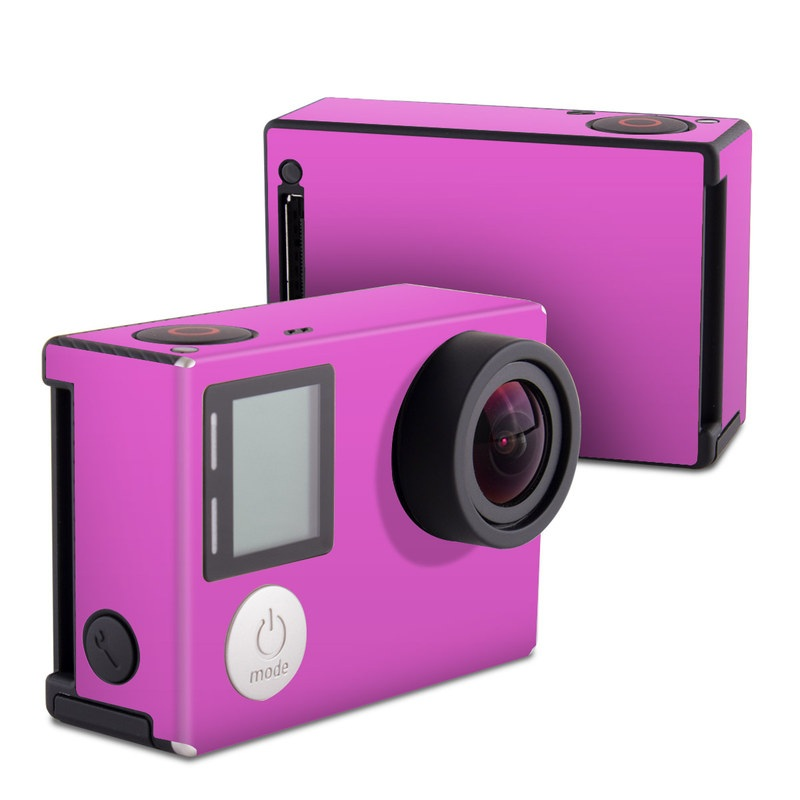 Solid State Vibrant Pink GoPro Hero4 Black Edition Skin