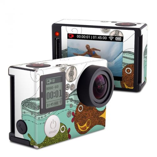 Bubble Buddies GoPro Hero4 Silver Edition Skin