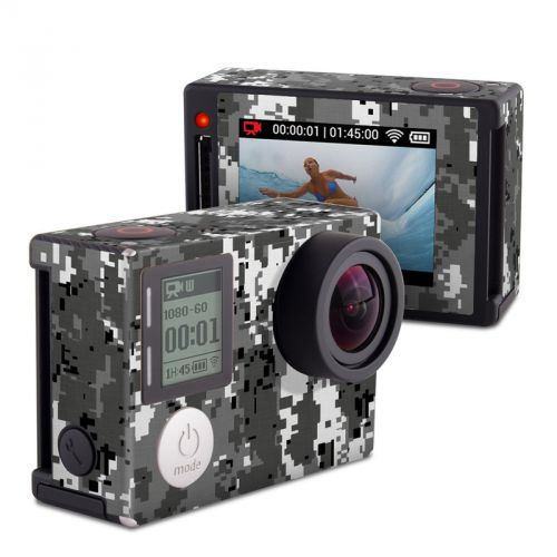 Digital Urban Camo GoPro Hero4 Silver Edition Skin