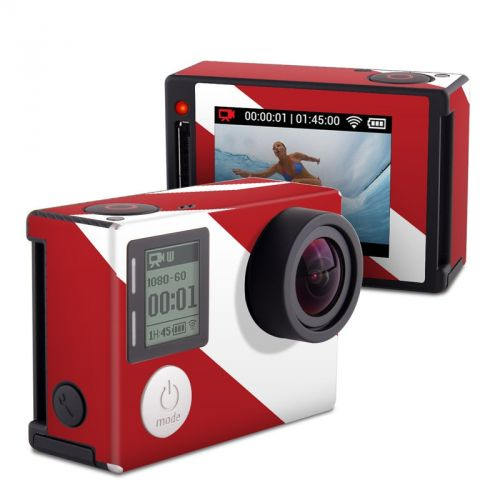 Diver Down GoPro Hero4 Silver Edition Skin