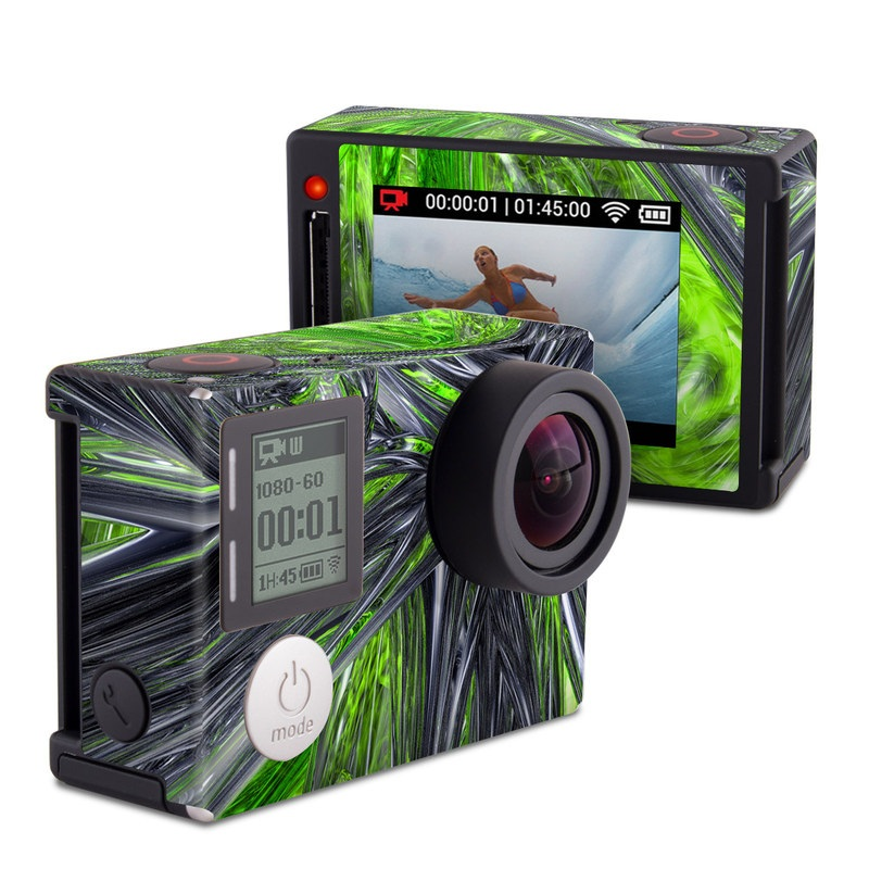 Emerald Abstract GoPro Hero4 Silver Edition Skin