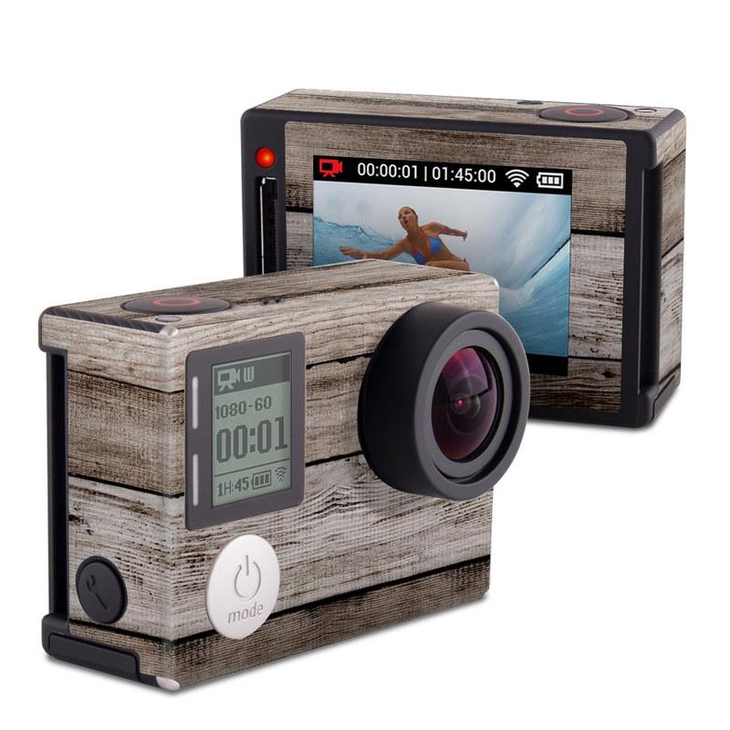 Barn Wood GoPro Hero4 Silver Edition Skin