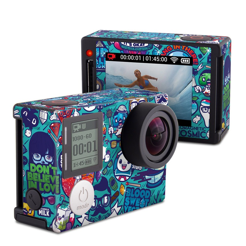 Cosmic Ray GoPro Hero4 Silver Edition Skin
