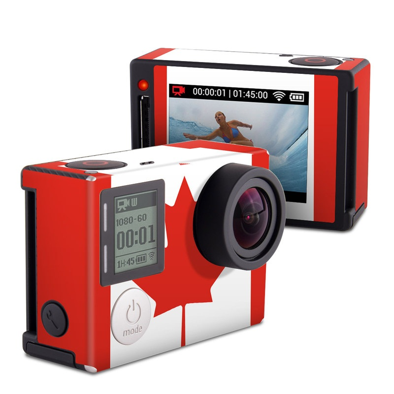 Canadian Flag GoPro Hero4 Silver Edition Skin