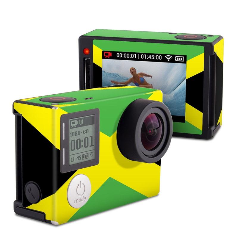 Jamaican Flag GoPro Hero4 Silver Edition Skin