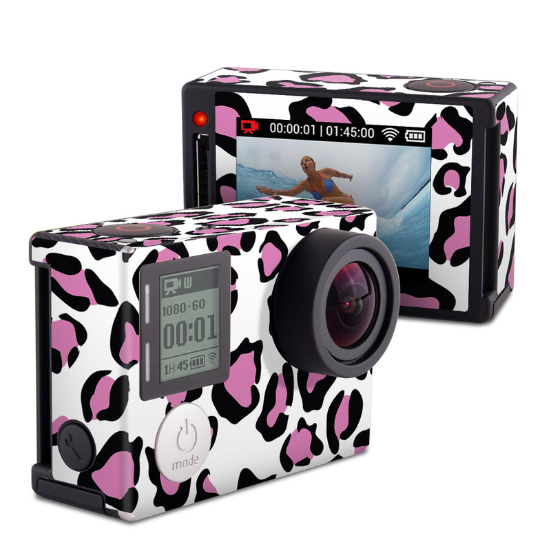 Leopard Love GoPro Hero4 Silver Edition Skin
