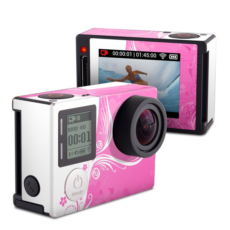 Pink Crush GoPro Hero4 Silver Edition Skin