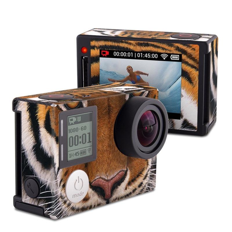 Siberian Tiger GoPro Hero4 Silver Edition Skin