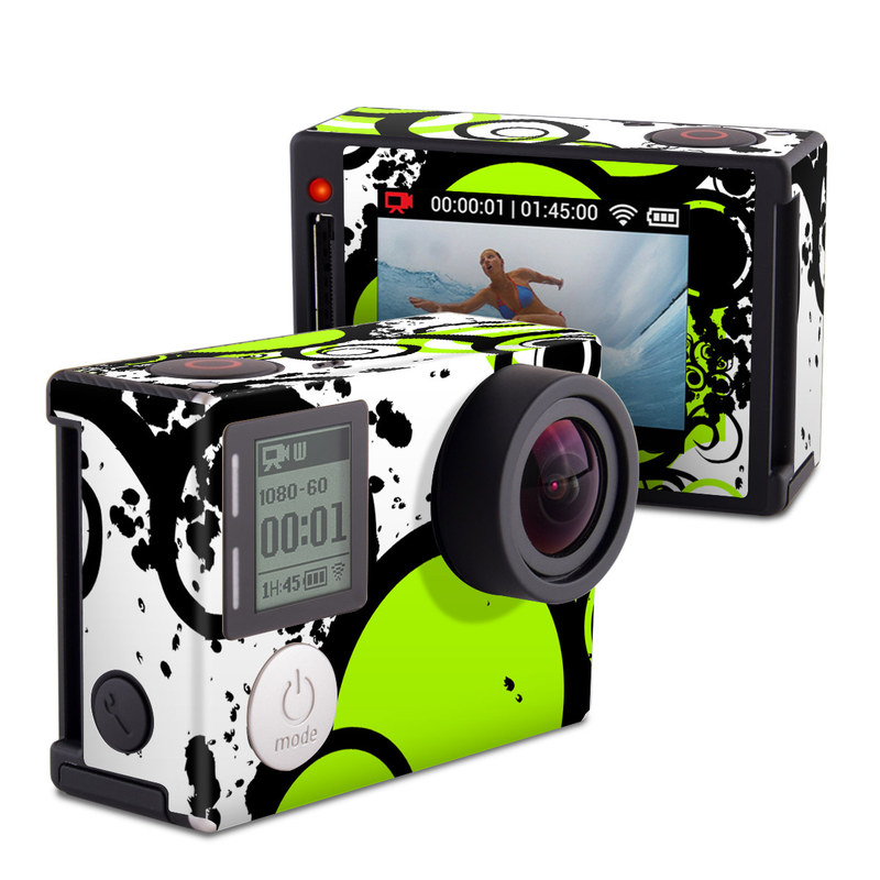 Simply Green GoPro Hero4 Silver Edition Skin