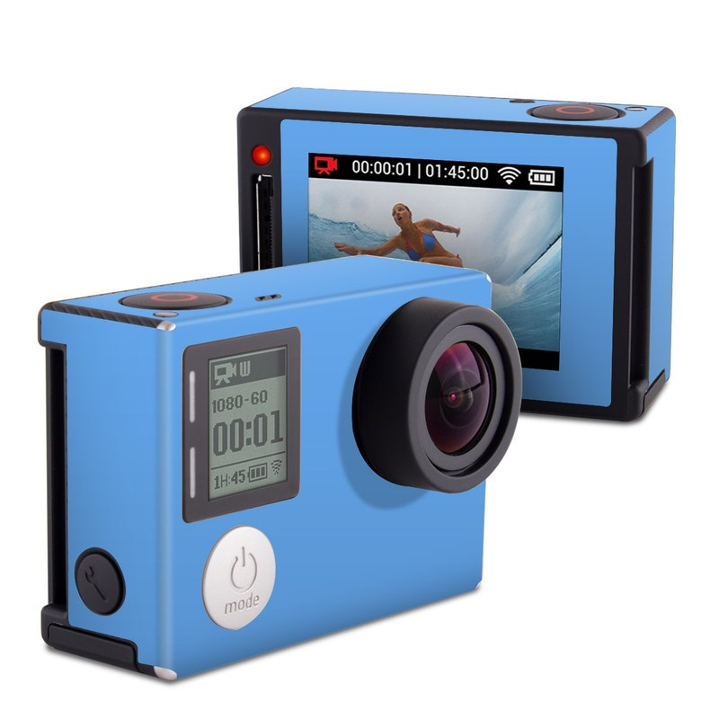 Solid State Blue GoPro Hero4 Silver Edition Skin