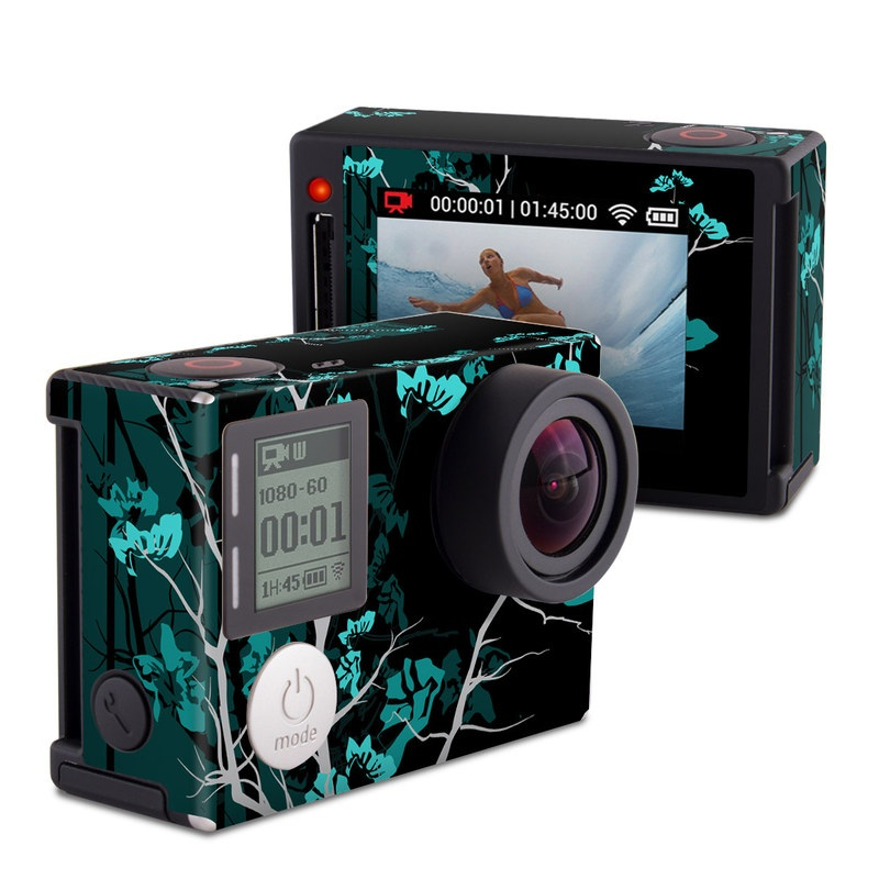 Aqua Tranquility GoPro Hero4 Silver Edition Skin