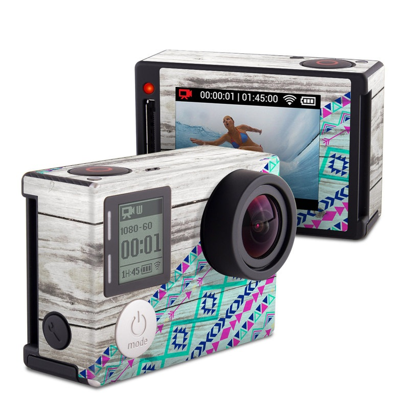 Traveler GoPro Hero4 Silver Edition Skin