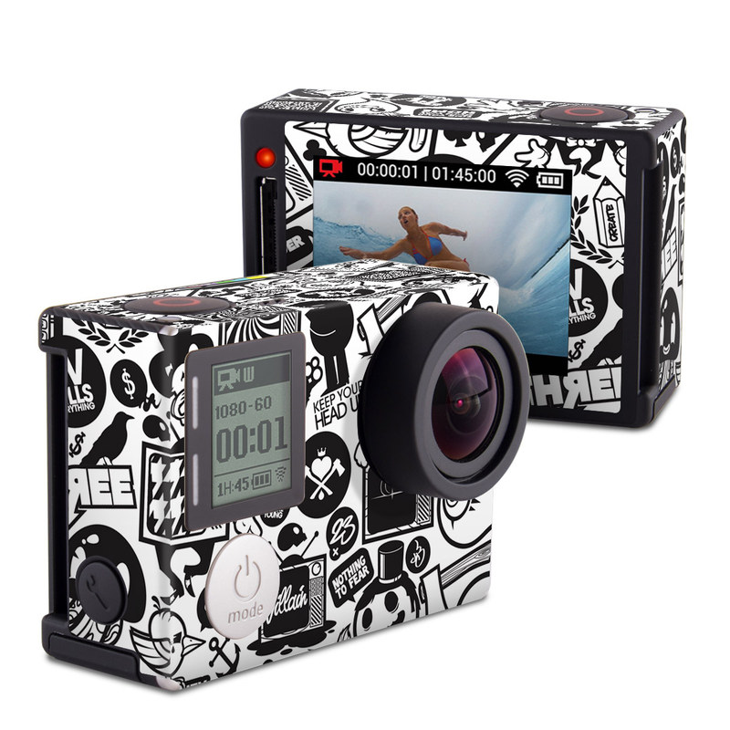 TV Kills Everything GoPro Hero4 Silver Edition Skin