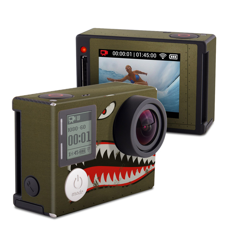 USAF Shark GoPro Hero4 Silver Edition Skin