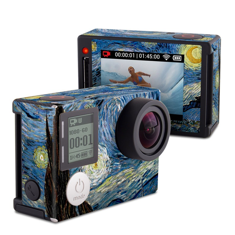 Starry Night GoPro Hero4 Silver Edition Skin