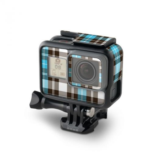 Turquoise Plaid GoPro Hero5 Black Skin