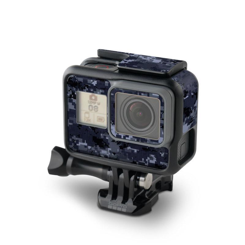 Digital Navy Camo GoPro Hero5 Black Skin