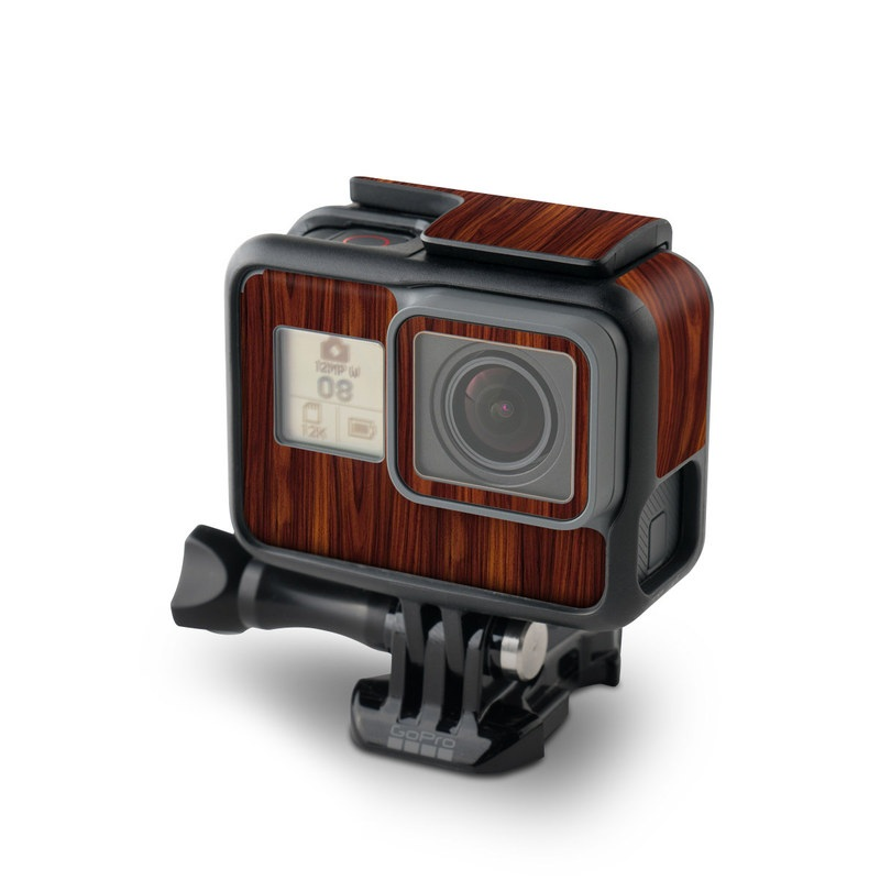 Dark Rosewood GoPro Hero5 Black Skin