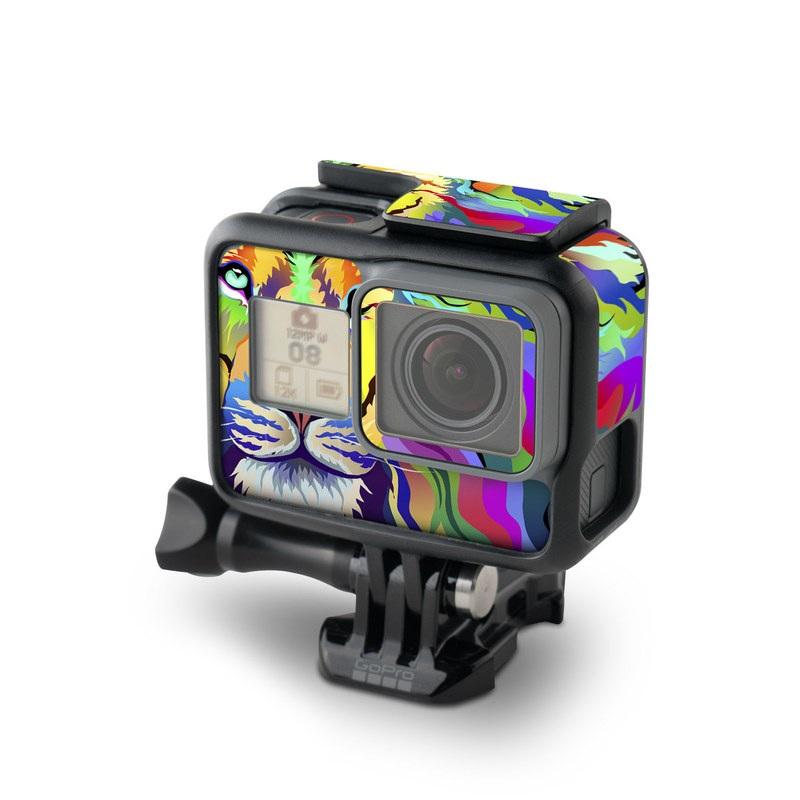 King of Technicolor GoPro Hero5 Black Skin