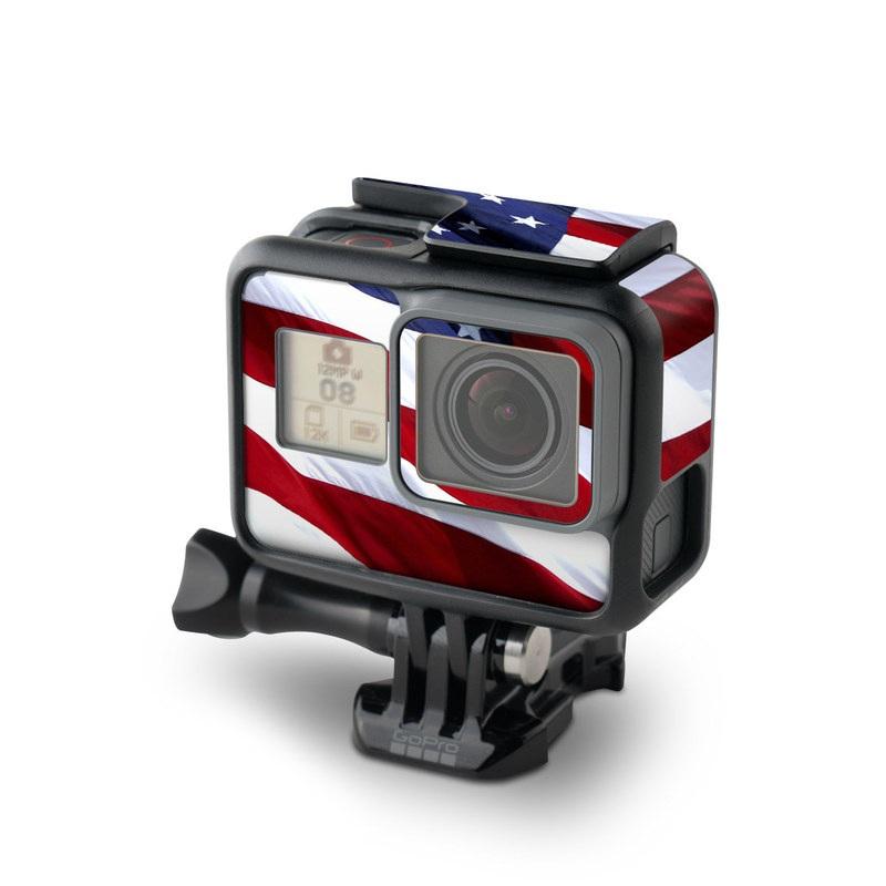 Patriotic GoPro Hero5 Black Skin