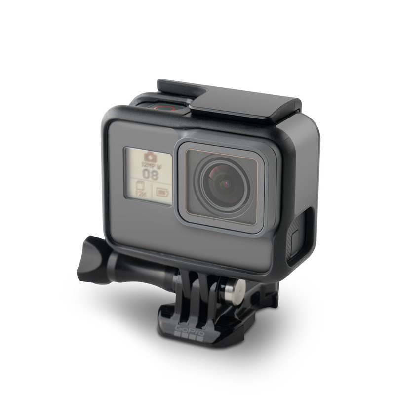 GoPro Hero5 Black Skin design of Atmospheric phenomenon, Daytime, Grey, Brown, Sky, Calm, Atmosphere, Beige with gray colors