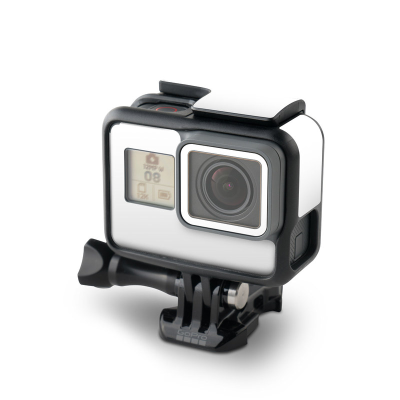 Solid State White GoPro Hero5 Black Skin