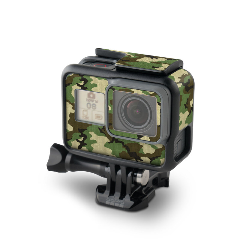 Woodland Camo GoPro Hero5 Black Skin