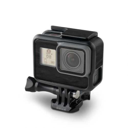 Black Woodgrain GoPro Hero6 Black Skin