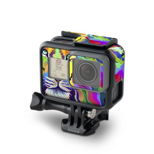 King of Technicolor GoPro Hero6 Black Skin