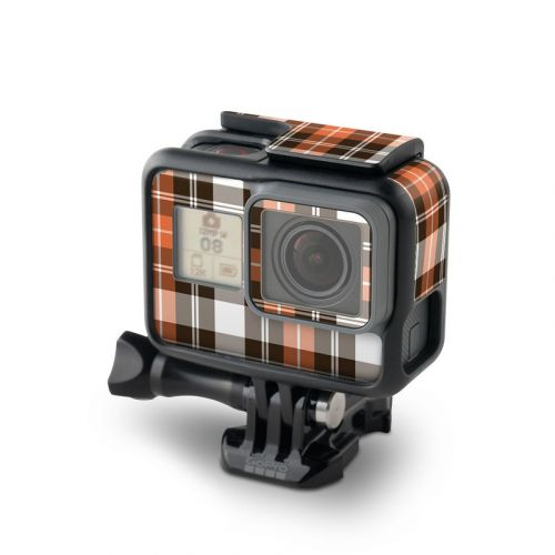 Copper Plaid GoPro Hero6 Black Skin