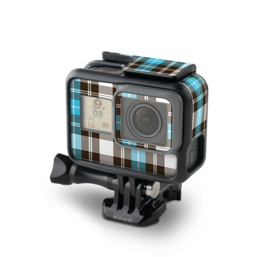 Turquoise Plaid GoPro Hero6 Black Skin