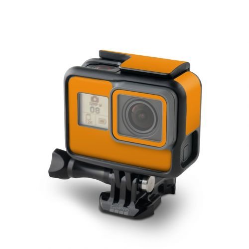 Solid State Orange GoPro Hero6 Black Skin