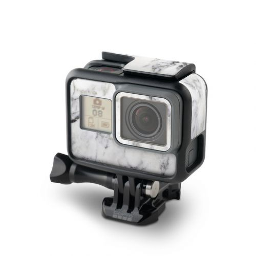 White Marble GoPro Hero6 Black Skin