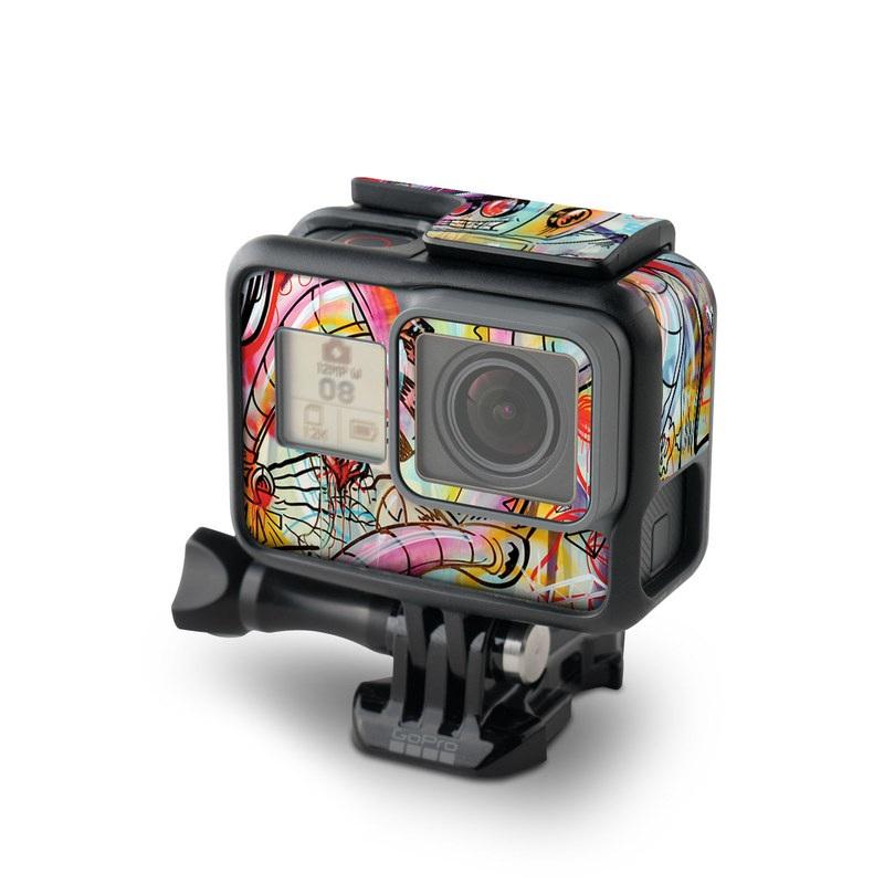 Battery Acid Meltdown GoPro Hero6 Black Skin