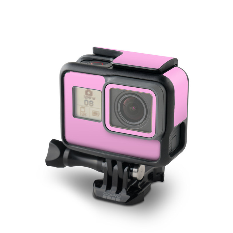 GoPro Hero6 Black Skin design of Pink, Violet, Purple, Red, Magenta, Lilac, Sky, Material property, Peach with pink colors