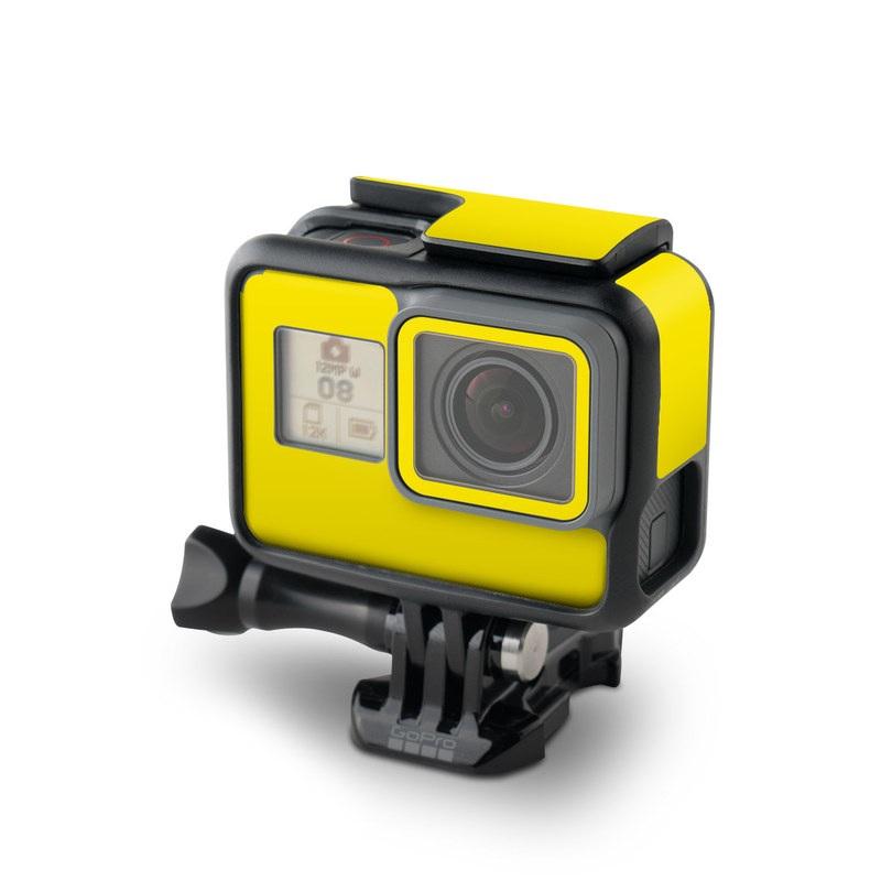 Solid State Yellow GoPro Hero6 Black Skin