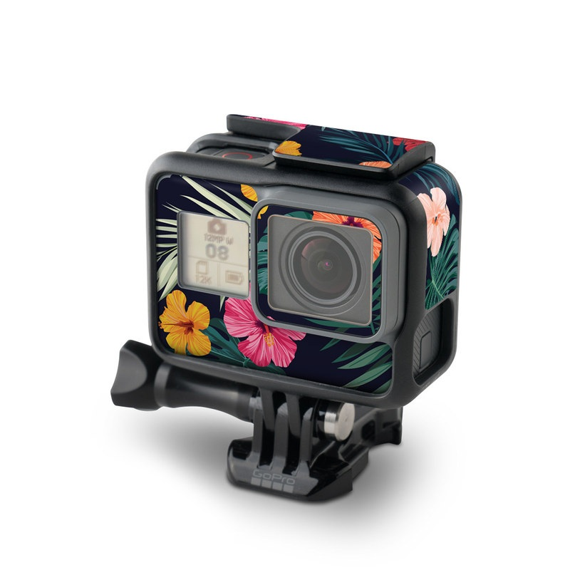 Tropical Hibiscus GoPro Hero6 Black Skin