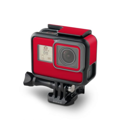 Solid State Red GoPro Hero7 Black Skin