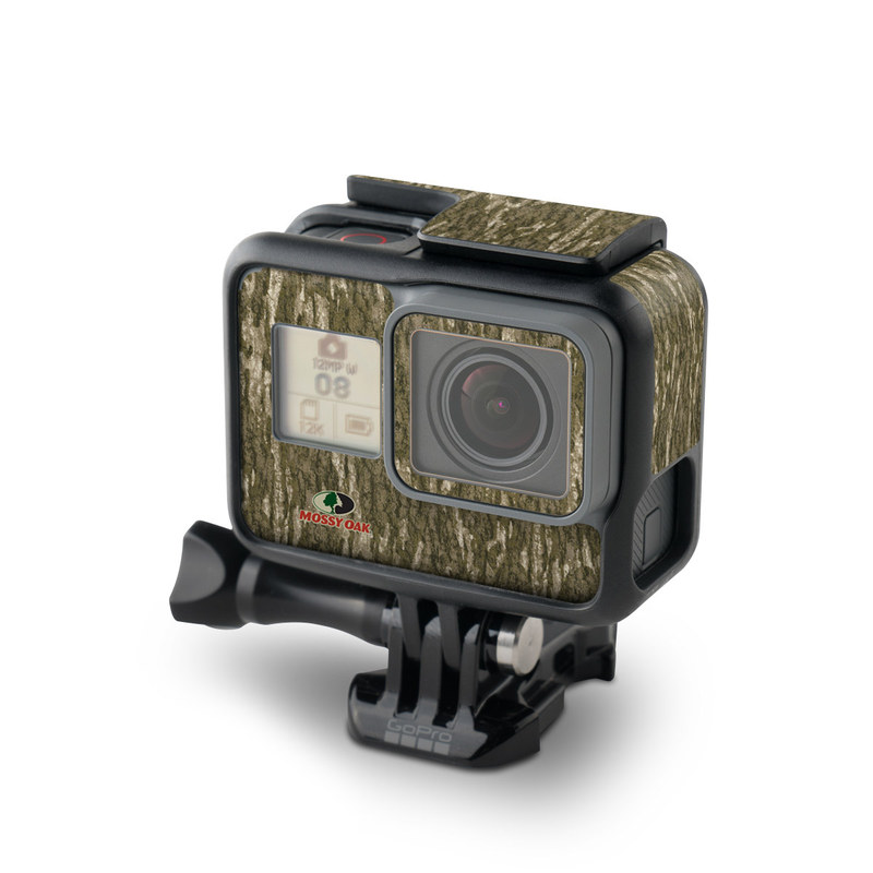 GoPro Hero7 Black Skin design of Grass, Brown, Grass family, Plant, Soil with black, red, gray colors